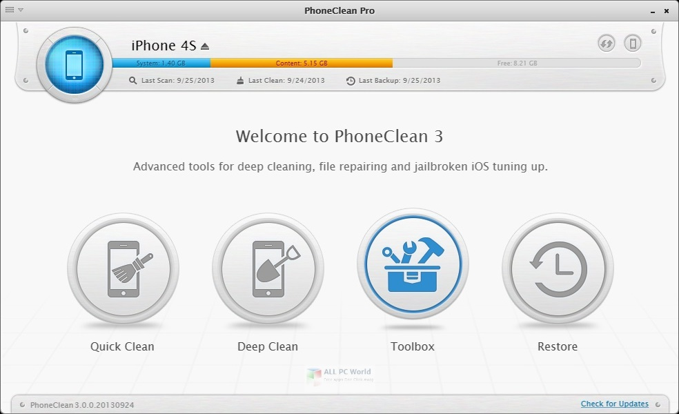 imobie PhoneClean Pro 5.6 Free Download