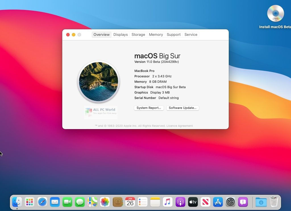 macOS Big Sur 11.0.1 (20B29) Direct Download Link