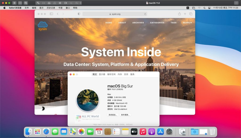 macOS Big Sur 11.0.1 (20B29) Free Download