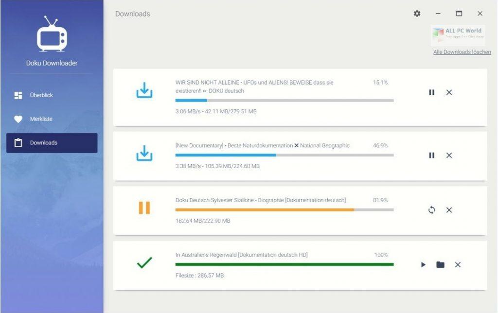 Abelssoft Doku Downloader Plus 2021 v3.1 One-Click Download