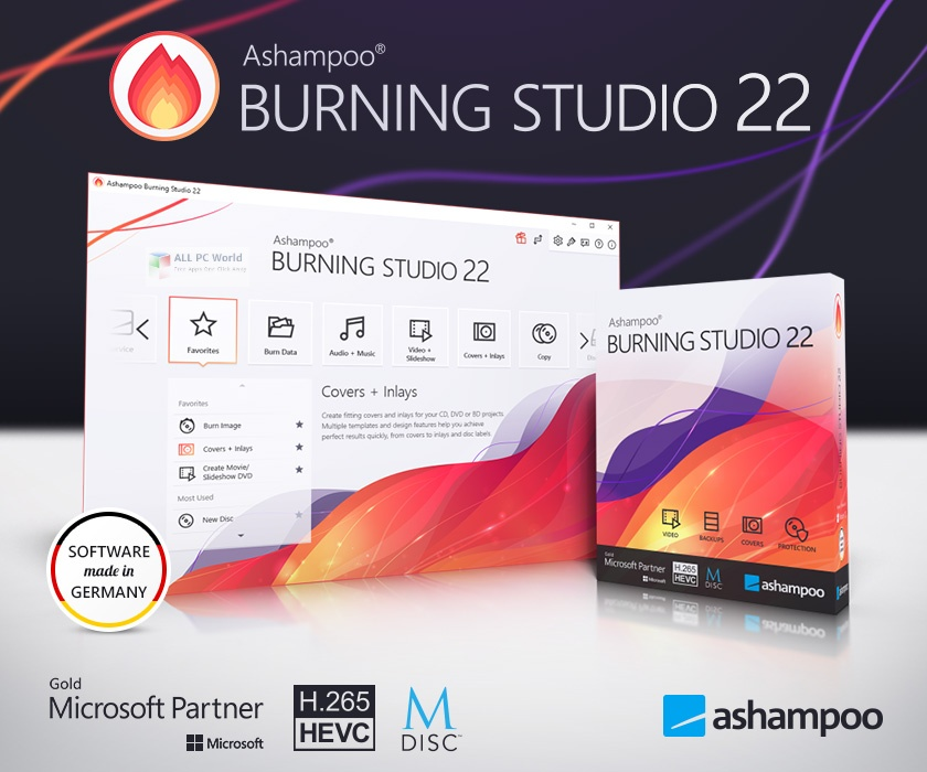 Ashampoo Burning Studio 22.0 Direct Download Link