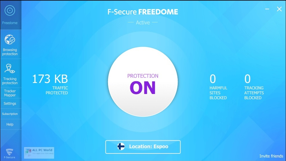 F-Secure Freedome VPN 2.16