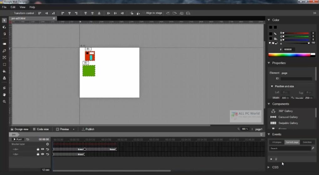 Google Web Designer 10 Full Version Download