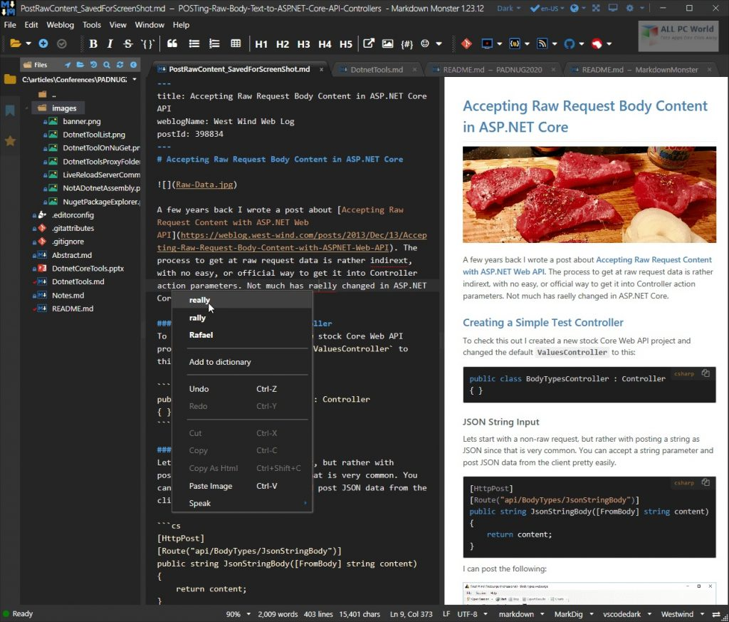 Markdown Monster 1.25.7 Free Download