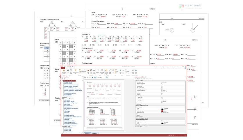 Math Resource Studio Professional 7.0 One-Click Download