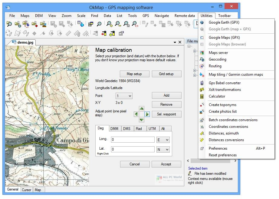 OkMap 15.0 One-Click Download