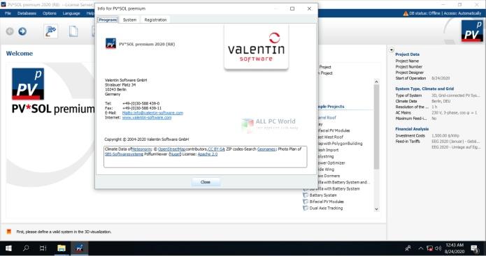 PVSOL Premium 2020 R8 Free Download