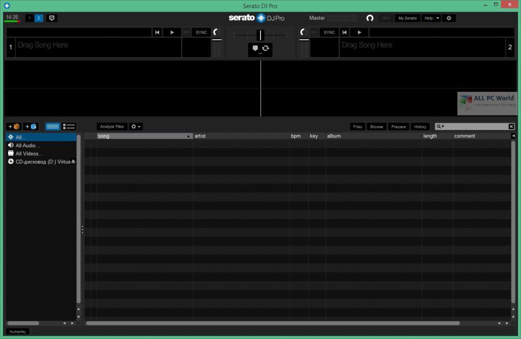 Serato DJ Pro 2.4.3 Build 117 Free Download
