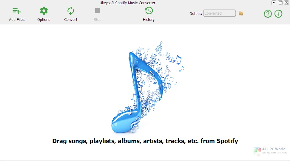 Ukeysoft Spotify Music Converter 3.1 Free Download