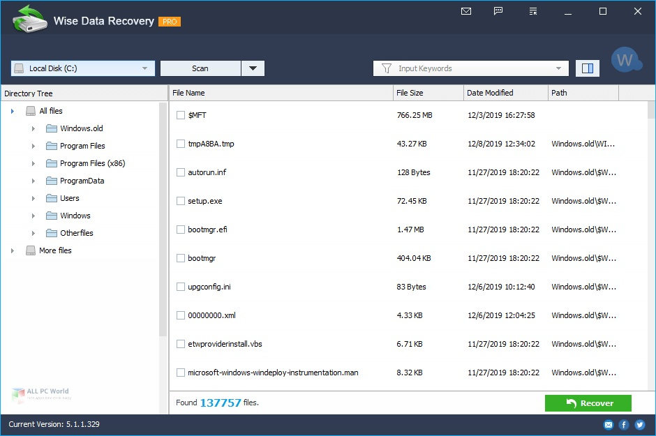 Wise Data Recovery Pro 5 Free Download