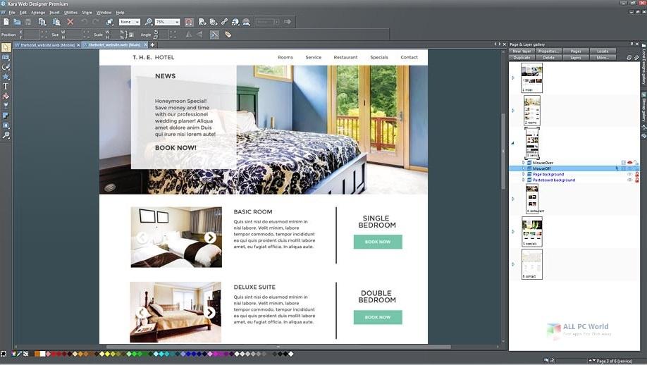Xara Web Designer Premium 17.1 Full Version Download