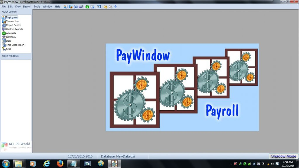 Zpay PayWindow Payroll System 2021 v19.0 Direct Download Link