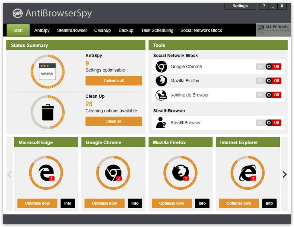 Abelssoft AntiBrowserSpy 2021 v4.04.46 Direct Download Link