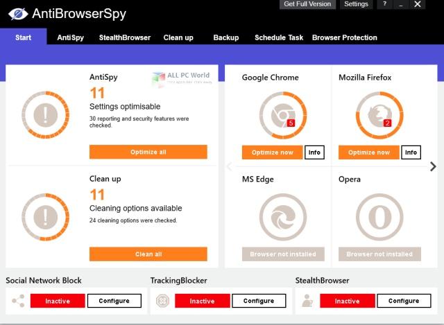 Abelssoft AntiBrowserSpy 2021 v4.04.46 Free Download