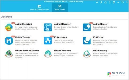 Coolmuster Android SMS + Contacts Recovery 4.5 Direct Download Link