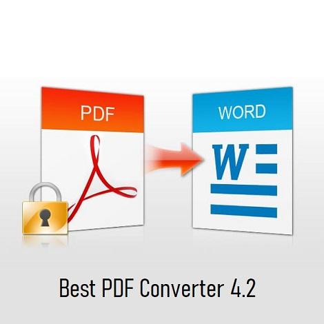 Download Best PDF Converter 4.2
