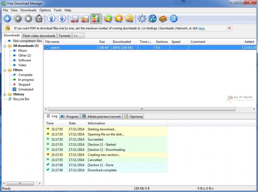 Free Download Manager 6.13 Direct Download Link