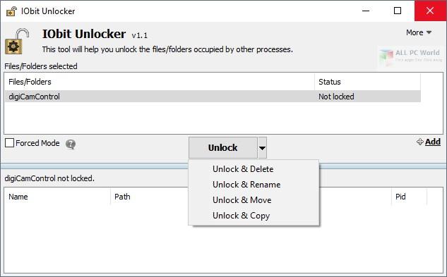IObit Unlocker 1.2