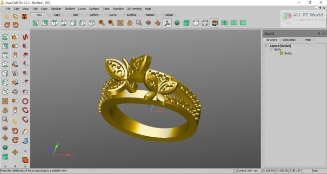 JewelCAD Pro 2.2 One-Click Download
