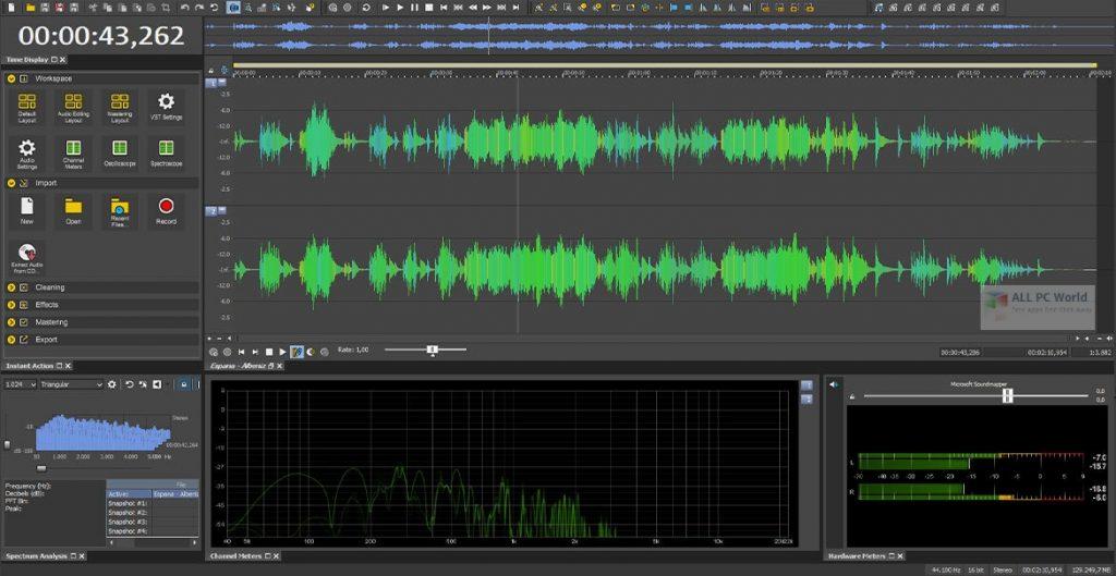 MAGIX SOUND FORGE Audio Studio 15.0