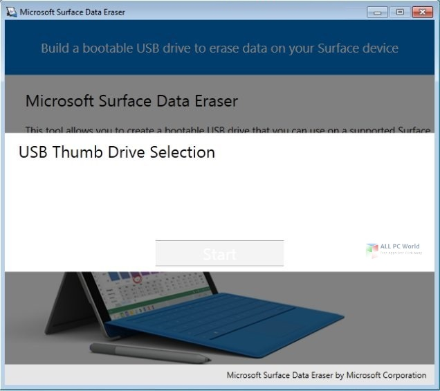 Microsoft Surface Data Eraser 3.34 Direct Download Link