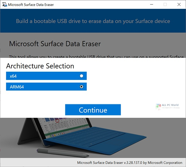 Microsoft Surface Data Eraser 3.34 Free Download