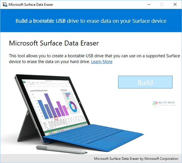 Microsoft Surface Data Eraser 3.34