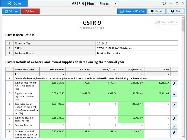 OCTA GST 10.9 Full Version Download