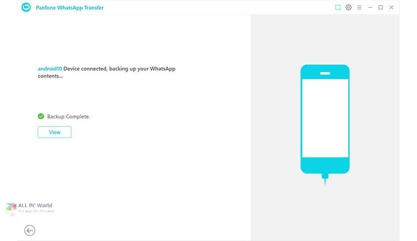 PanFone WhatsApp Transfer 2.1.2 Direct Download Link