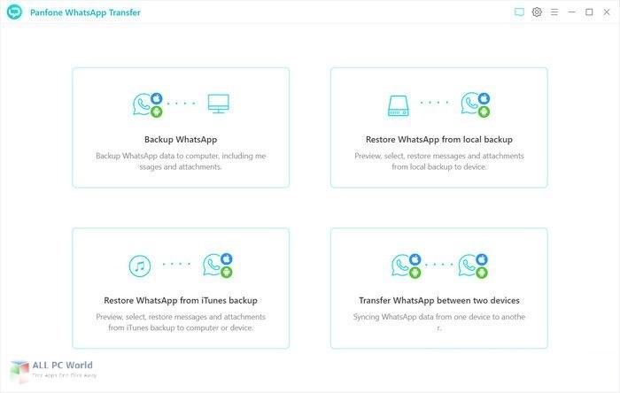 PanFone WhatsApp Transfer 2.1.2