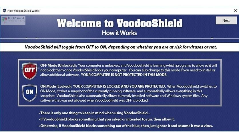 Voodooshield Pro 6.11 Direct Download Link