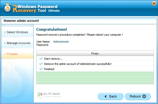 Windows Password Recovery Tool Ultimate 7.1 Free Download