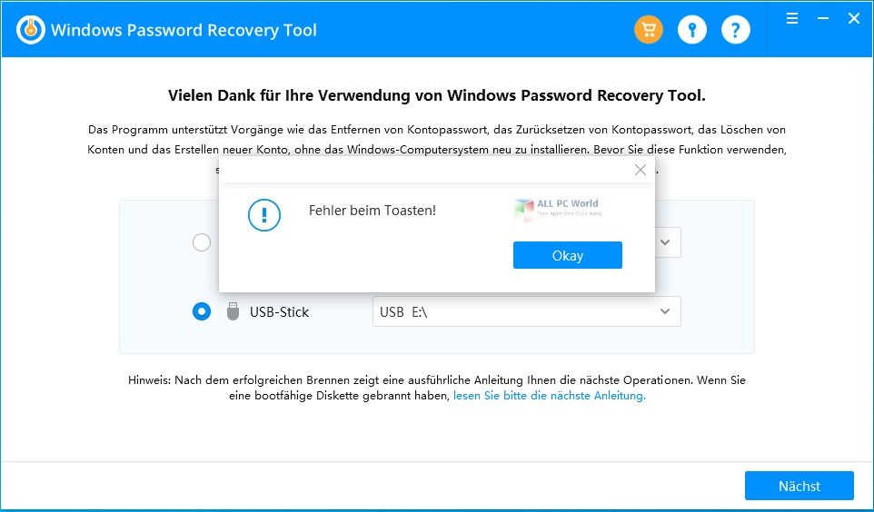 Windows Password Recovery Tool Ultimate 7.1 One-Click Download