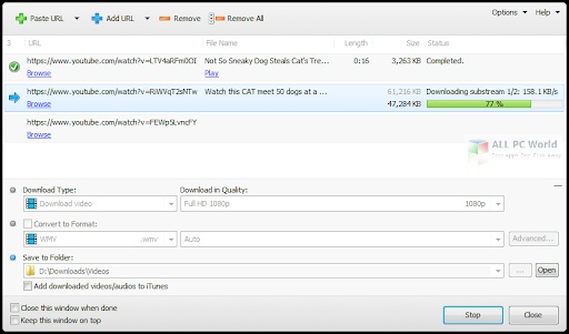 Youtomato YT Downloader Plus 4.16