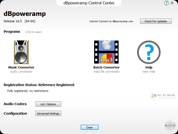 dBpoweramp Music Converter R17.3 Direct Download Link