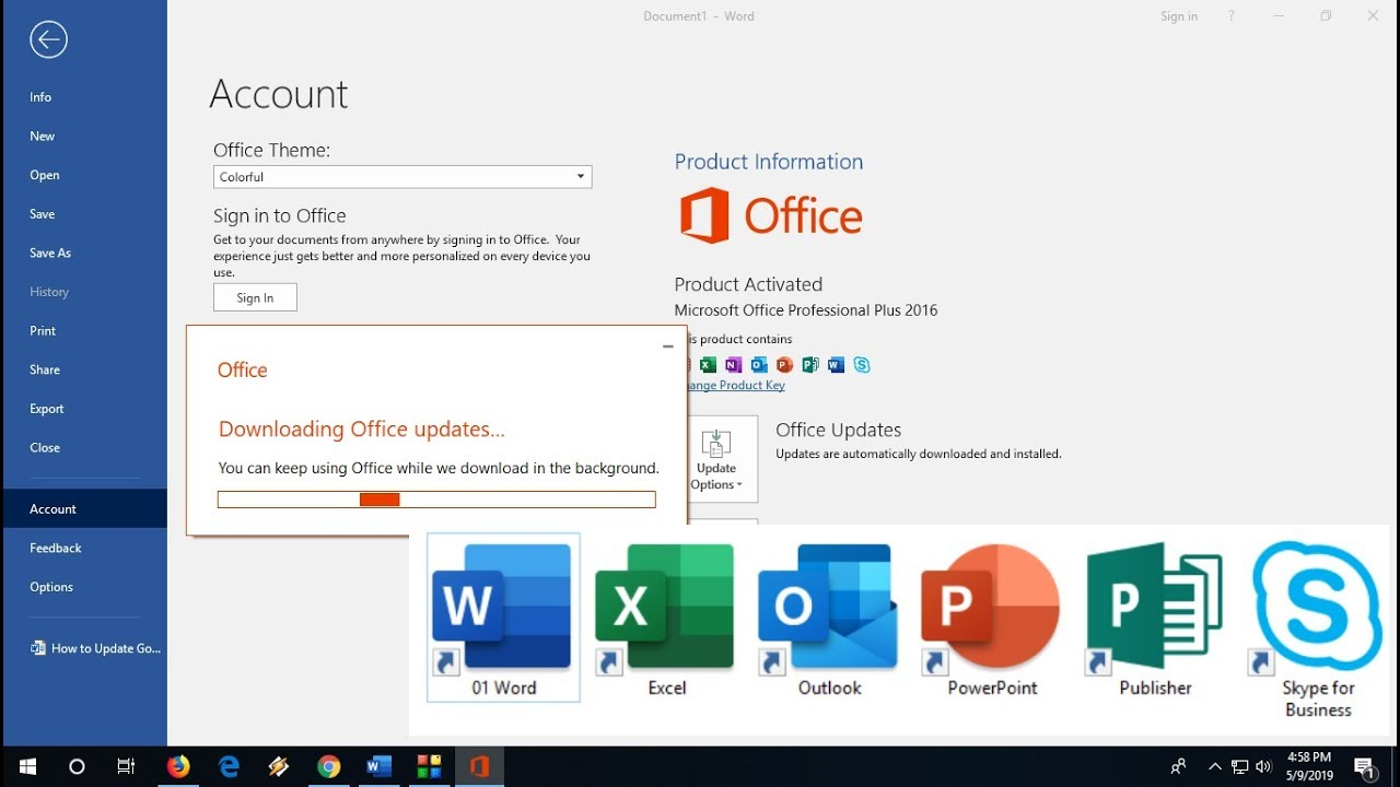 Microsoft Office 2019 Volume Channel 16 Free Download