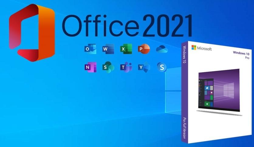 Windows 10 Pro 19044.1200 + Office 2021 Free Download
