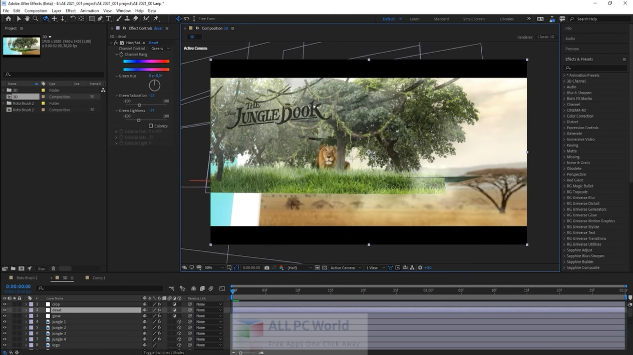 Adobe After Effects 2021 18.0.1.1 Free Download