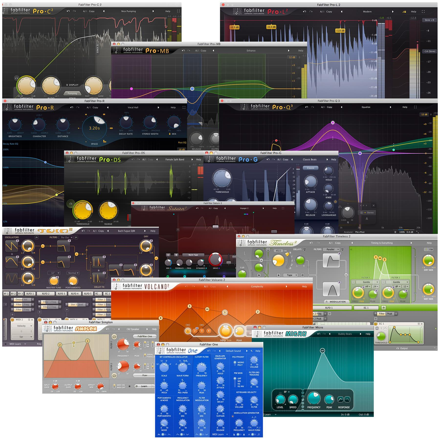 FabFilter-Total-Bundle-v2020.6 Free Download