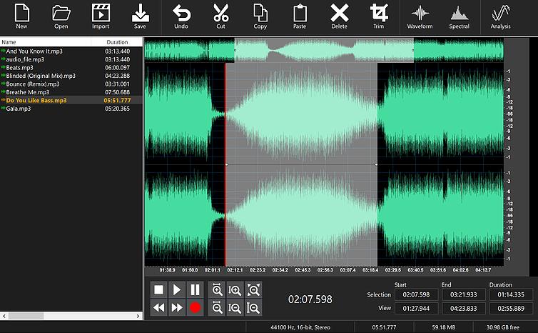 Program4PC Audio Editor 9 Free Download