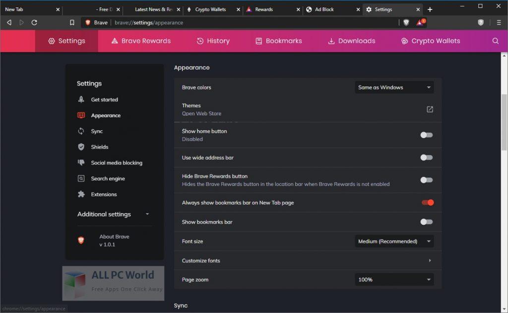 Brave Browser Setup Free Download