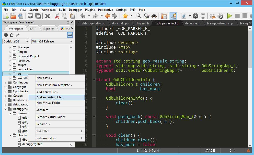 CodeLite 15 Setup Free Download