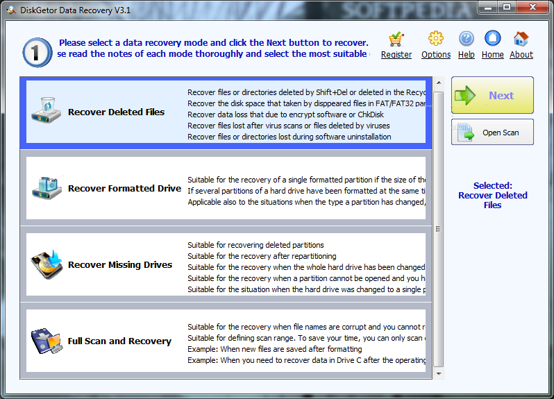 DiskGetor Data Recovery 4 Free Download
