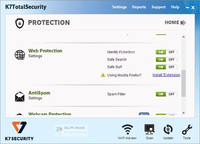 K7 Total Security 16 Setup Free Download