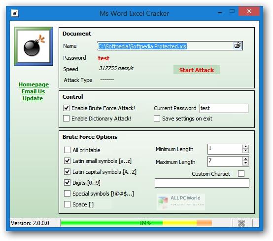 Ms Word Excel Cracker 2 Setup Free Download