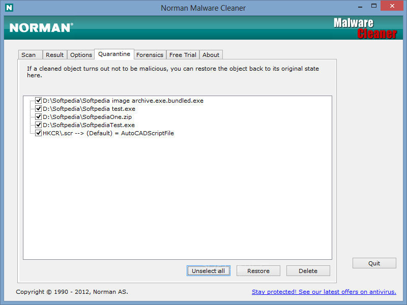 Norman Malware Cleaner 2 Installer Free Download