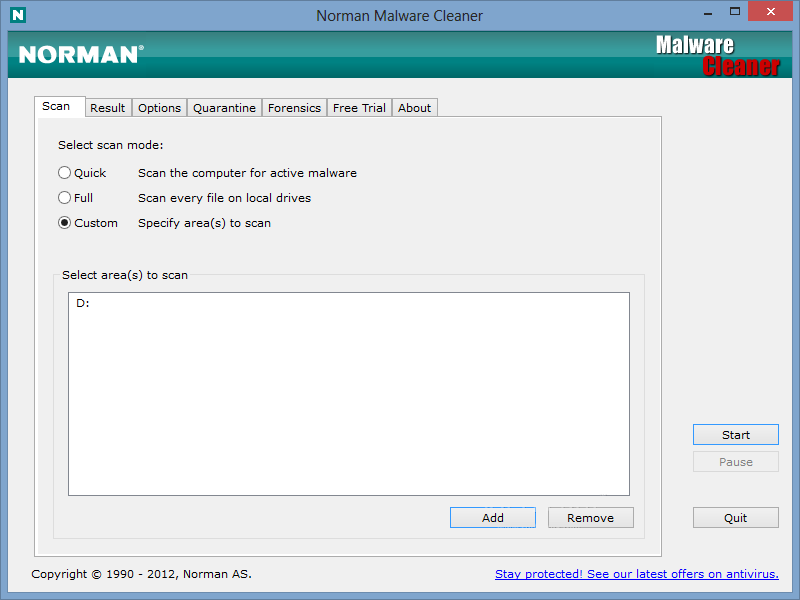 Norman Malware Cleaner 2 Setup Free Download