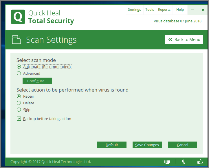 Quick Heal Total Security 19 Setup Free Download