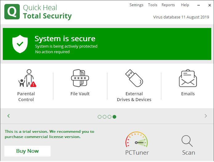 Quick Heal Total Security Free Download