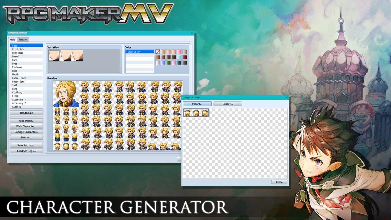RPG Maker MV 1.61 Free Download
